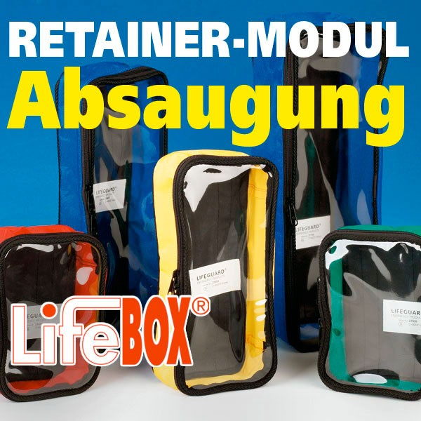 LifeBOX Retainer Modul - Absaugung