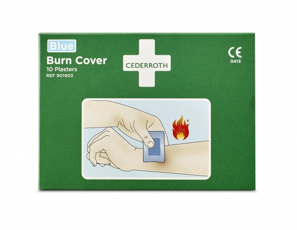 Burn Cover, Hydrogelpflaster 10 Stück pro Packung